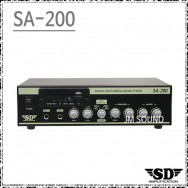 SA-200 /다용도앰프,USB,SD Card,FM라디오,AUX1 2,LINE OUT,2채널,200와트