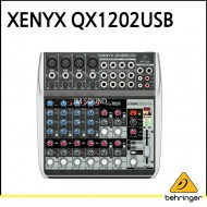 QX1202USB/프리미엄 12입력 2버스 믹서, 제닉스 마이크 프리앰프, 컴프레셔, 브리티쉬 EQ, 24비트 멀티 F
