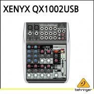 QX1002USB/프리미엄 10입력 2버스 믹서, 제닉스 마이크 프리앰프, 컴프레셔, 브리티쉬 EQ, 24비트 멀티 F