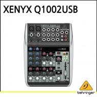 Q1002USB,프리미엄 10입력 2버스 믹서, 제닉스 마이크 프리앰프, 컴프레셔, 브리티쉬 EQ와 USB,오디오 인터페이스