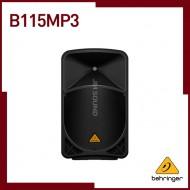 B115MP3,MP3 플레이어  무선 옵션 & 통합 믹서가 탑재된 액티브 1000W  2웨이 15인치 스피커
