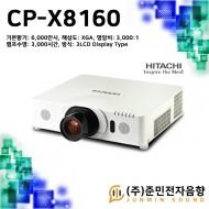 CP-X8160/기본밝기:6,000안시 . 해상도: XGA(1024x768)