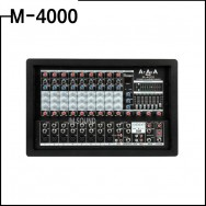 M-4000/ 파워드믹서앰프,10CH,USB,이펙터내장,아타카,900와트