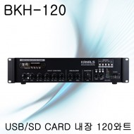 BKH-120/USB/SD CARD/120와트