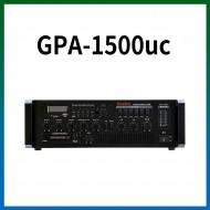 GPA-1500UC/USB/SD Card/라디오/카셋트/마이크1,2,3,4,/마이크1뮤트기능/AUX1,2/라인출력/챠임,싸이렌/펜텀파워/5회로셀렉터/AC,DC24V겸용/150와트