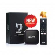 셋탑박스 딜라이브 UHD 4K 셋톱박스 구글 크롬 유튜브 넷플릭스