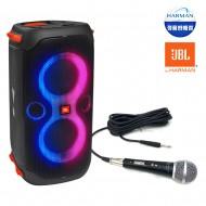 블루투스스피커 JBL PARTY BOX 110 생활방수 휴대용 160W + 유선마이크DR-2020 케이블포함