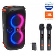 블루투스스피커 JBL PARTY BOX 110 생활방수 휴대용 160W + JBL무선마이크 (핸드+핸드)