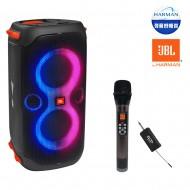 블루투스스피커 JBL PARTY BOX 110 생활방수 휴대용 160W + ELCID 1채널 에코 무선마이크(핸드)